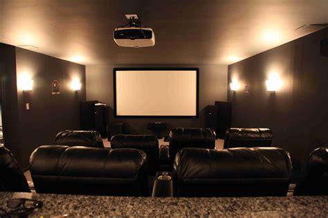 basement home theater dilemma flatscreen  projector