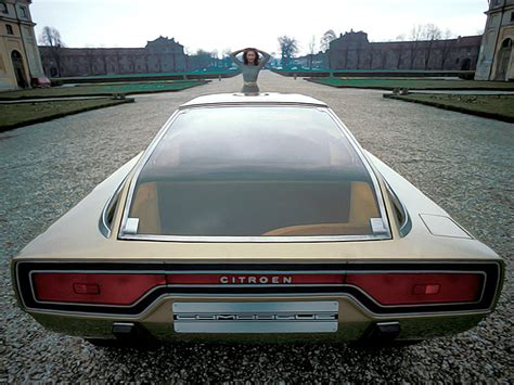 citro 235 n gs camargue concept 1972 old concept cars