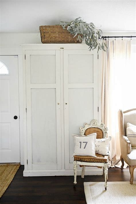 entryway armoire liz marie blog
