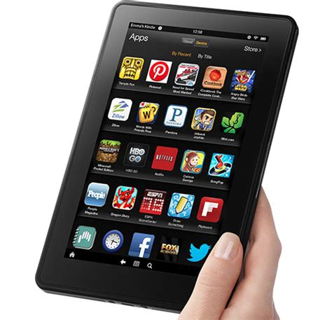 kindle for android tablet kindle released 2012 fact sheet
