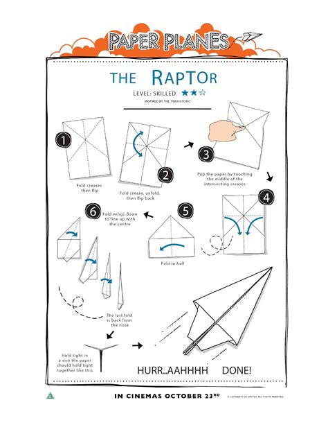 How To Make A Classic Paper Airplane - how to fold paper planes in the playroom
