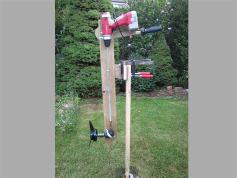 Home Design For Cheap by Wooden Outboard Motor Powered By A Cordless Drill Make