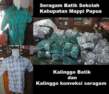 Konveksi Seragam Batik Sekolah Konveksi Seragam Sekolah Kalinggo Konveksi