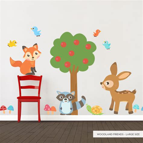 woodland wall stickers woodland wall decals images