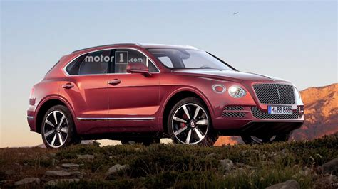 bentley bentayga render bentley considering more bentayga variants to stay competitive