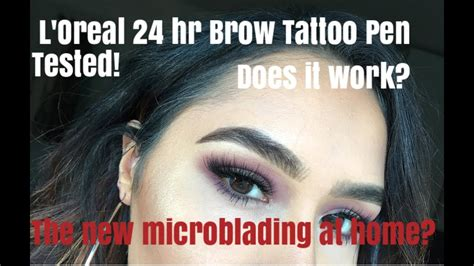 tattoo eyebrows l oreal loreal l oreal pictures to pin on pinterest tattooskid