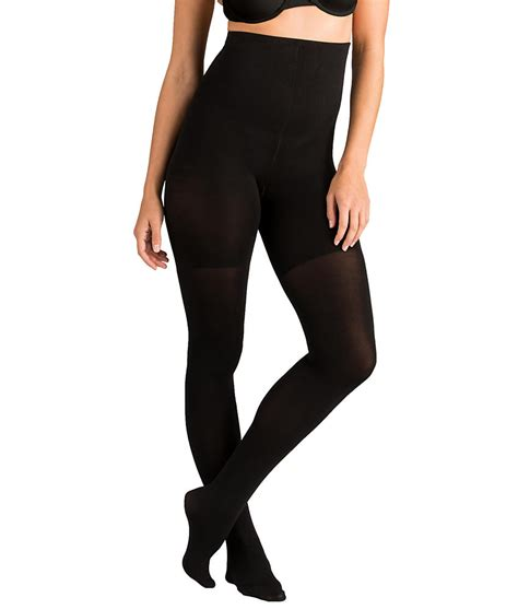 high and tight for women spanx tight end tights shaping high waist opaque hosiery