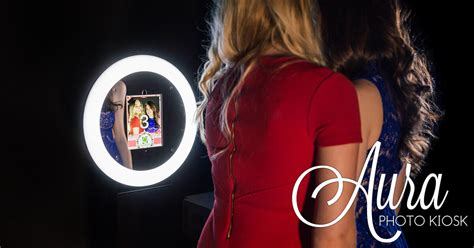 ring light photo booth mobibooth aura photo booth kiosk for sale gif booth