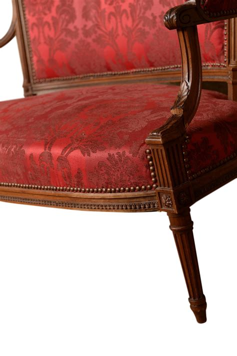 red settees corleone red settee found vintage rentals