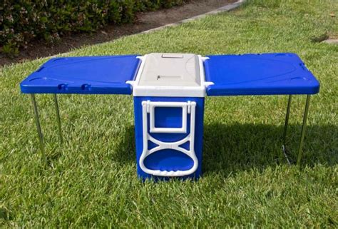 Cooler With Table And Chairs by Cooler With Fold Out Table And Chairs Mini Picnic Table