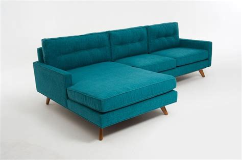 Turquoise Sectional Sofa Sectional In Lucky Turquoise For The Home