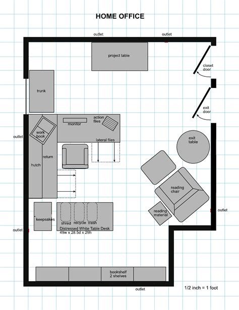 floor plan office planning for a home home design and style