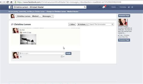 fb youtube how to send an image in private message on fb youtube