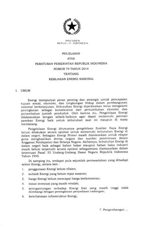 Ppkebijakan Sosial Untuk Negara Berkembang pp no 79 2014 kebijakan energi nasional