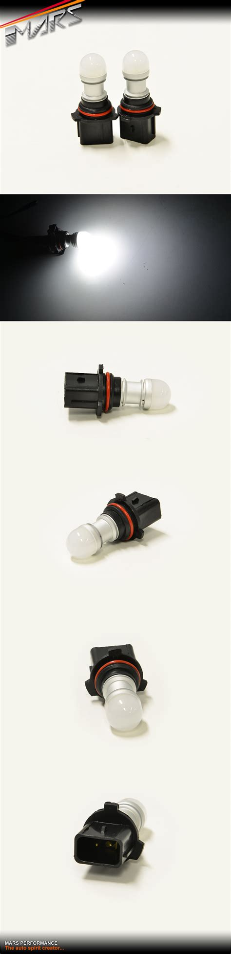 led fog light bulbs any 2x mars performance p13w 3d led smd white fog light bulbs