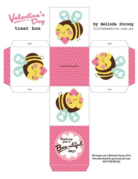 templates for valentines day boxes pinterest the world s catalog of ideas