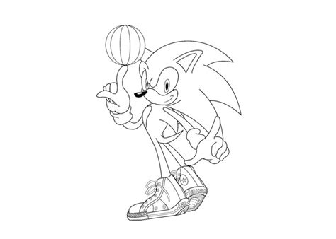 basketball cartoon coloring pages basketball sonics coloring pages