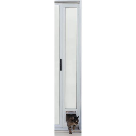 Patio Cat Door Ideal Modular Aluminum Patio Cat Door Walmart