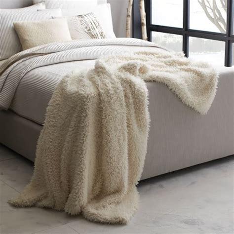 west elm sheepskin rug faux fur sheepskin oversize throw ivory west elm