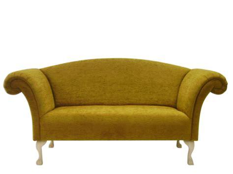 Handmade Sofa Company - regency chaise sofa in fabric leather the handmade sofa