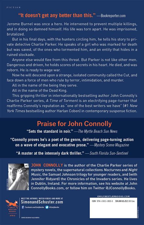 a time of torment a time of torment book by john connolly official publisher page simon schuster canada