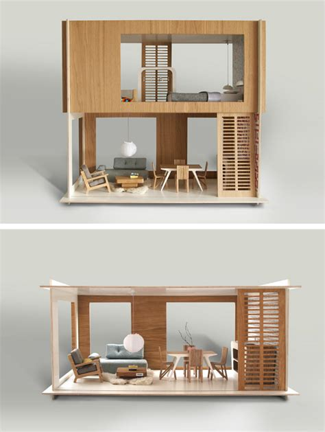 modern dollhouse modern doll houses miniio mr p blog pinterest doll