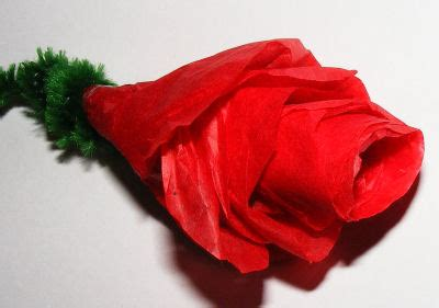 Roses Out Of Tissue Paper - tissue paper