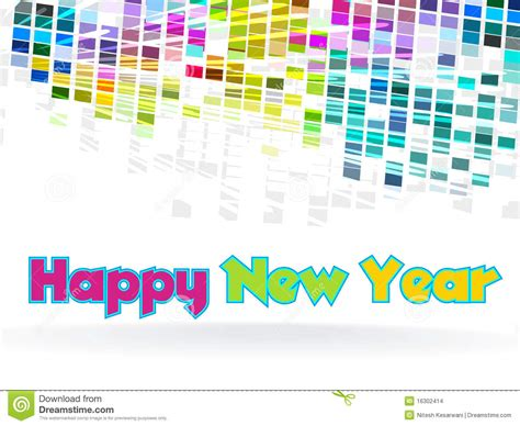 graphic design the new new year funky graphic design stock images image 16302414