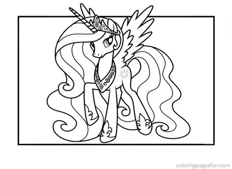 princess celestia coloring page princess celestia coloring pages free printable 563643