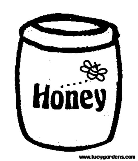 honey coloring pages pictures to pin on pinterest pinsdaddy