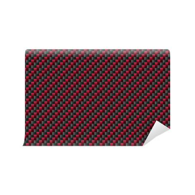 carbon pattern png red carbon fiber pattern wall mural pixers 174 we live to