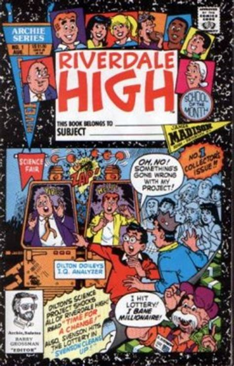 Archie Riverdale High riverdale high 1 archie comics comicbookrealm