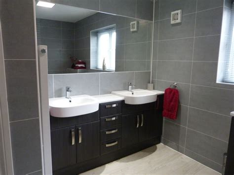 most popular bathroom flooring en suite refurbishment recently completed a shower