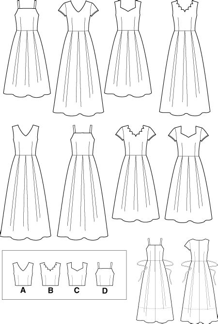 simplicity 9559 design your own dress