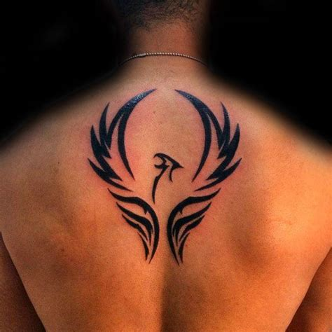phoenix tattoos for guys 40 tribal designs for mythology ink