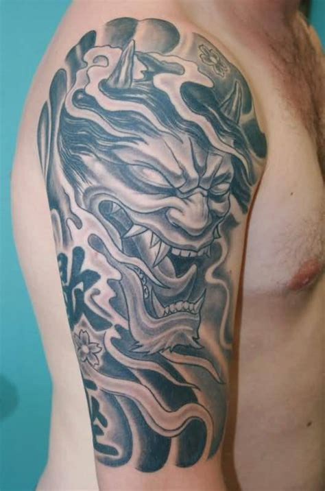 oni mask tattoo oni mask tattoos designs ideas and meaning tattoos for you