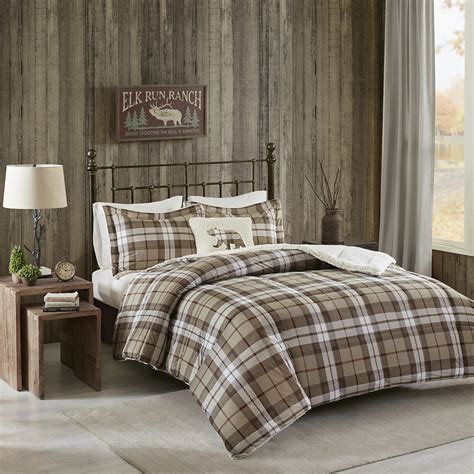 woolrich comforter sets woolrich rock ridge softspun down alternative comforter