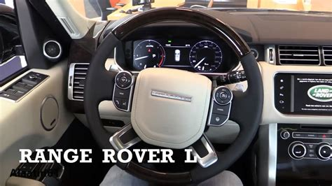 ford land rover interior 2017 land rover range rover l interior review