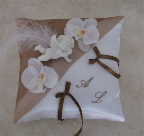 coussins alliances photo coussin alliance orchidee