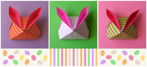 Origami Bunny Box - p 225 scoa de origami on origami rabbit and bunnies