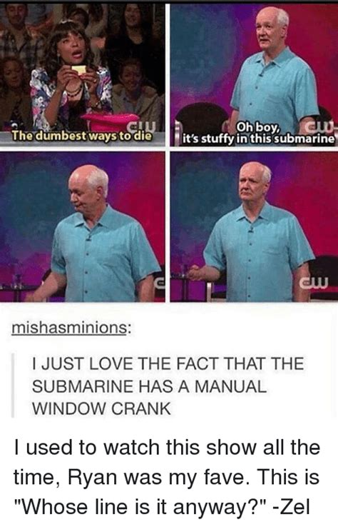 Whose Line Is It Anyway Meme - 25 best memes about submarines submarines memes