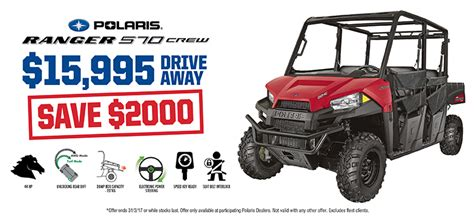 special offers polaris off road vehicles special offers incentives polaris sportsman autos post