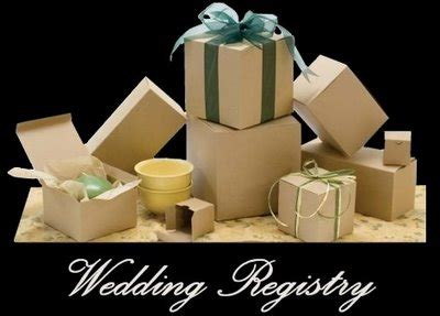 Wedding Registry Help by Bridal Consultants To Help Choose Wedding Bridal Registry