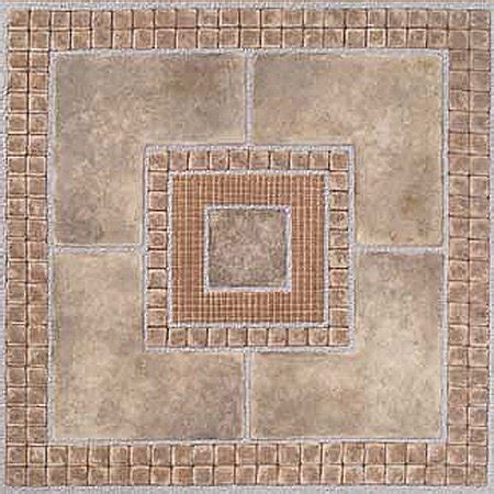 10 X 12 Vinyl Rug by Home Dynamix Vinyl Tile Area Rugs 7815 Brown