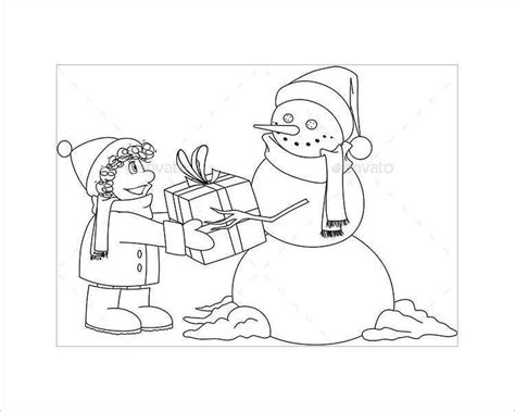 baby snowman coloring page 43 christmas templates for print free word designs