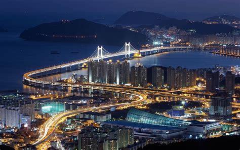 free wallpaper korea hd busan gwangan bridge south korea hd 1080p wallpaper
