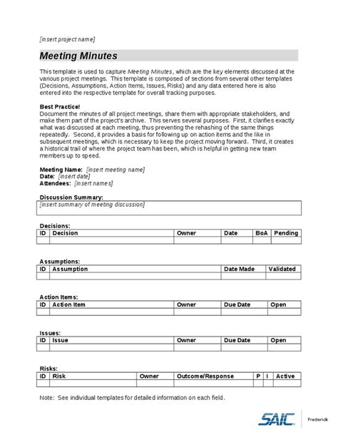 templates for documents minutes document template company documents