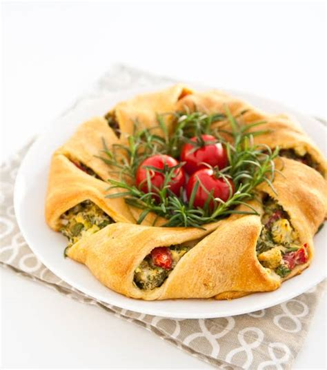 crescent roll christmas 10 best crescent roll wreath recipes