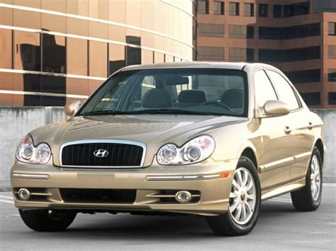 2003 hyundai sonata review 2003 hyundai sonata reviews specs and prices cars