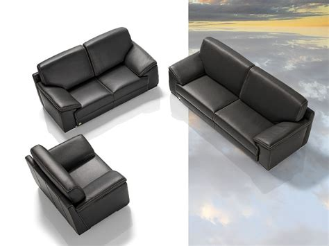 Italian Leather Sofa Sets Tonga Modern Italian Leather Sofa Set